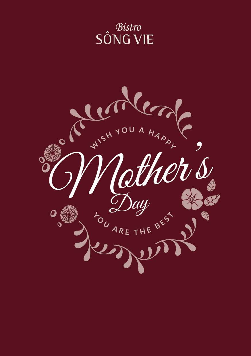 Mother's Day menu at Bistro Song Vie featured - Villa Song Saigon